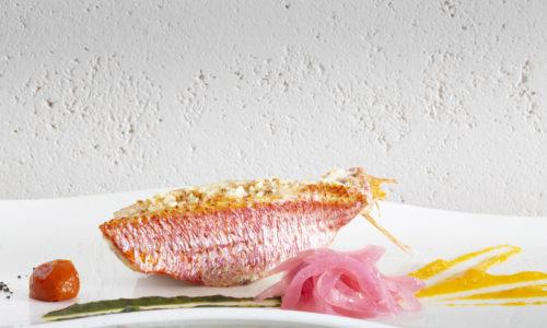 Ristorante di Pesce a Trapani Triglia confit e salsa agli agrumi